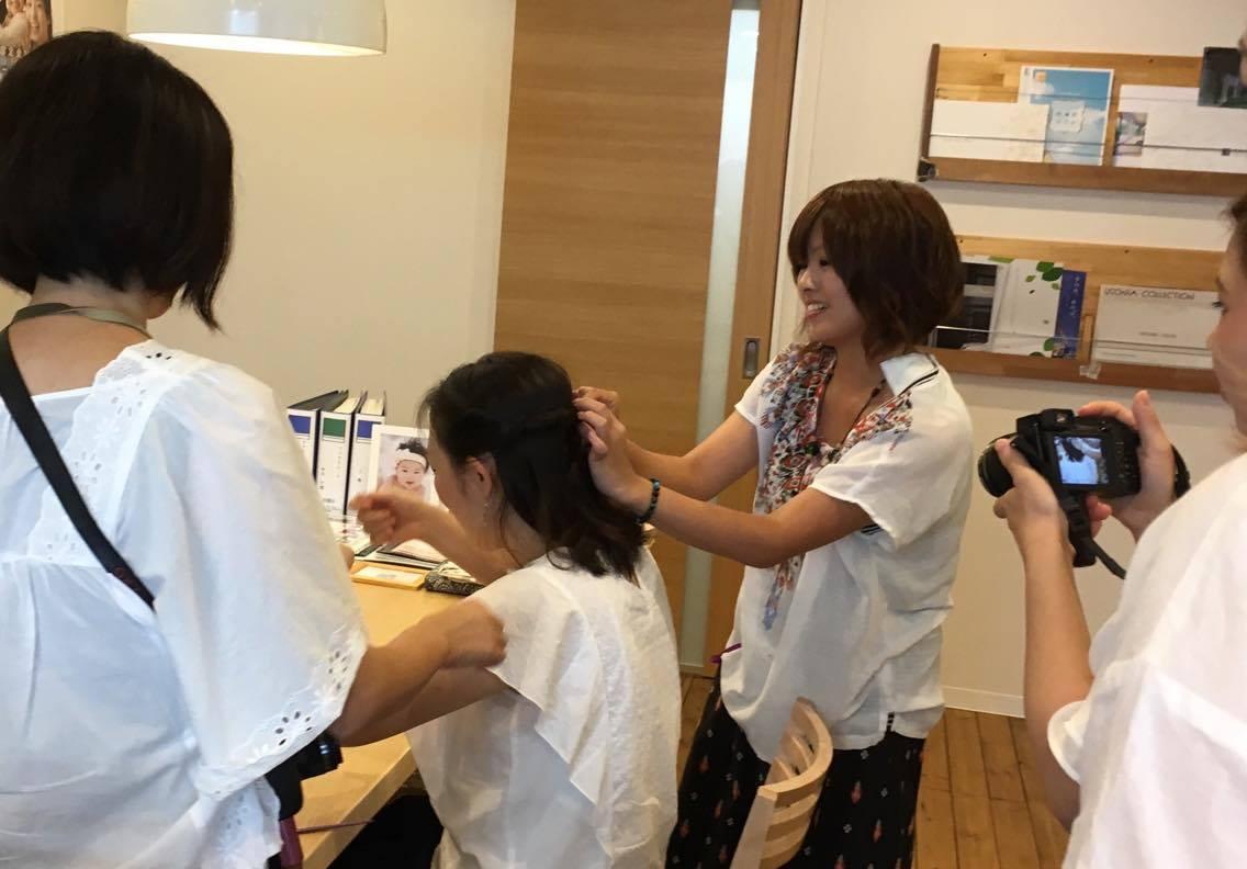 ヘアスタイリスト後藤さんコラボイベントinおうちの買い方相談室