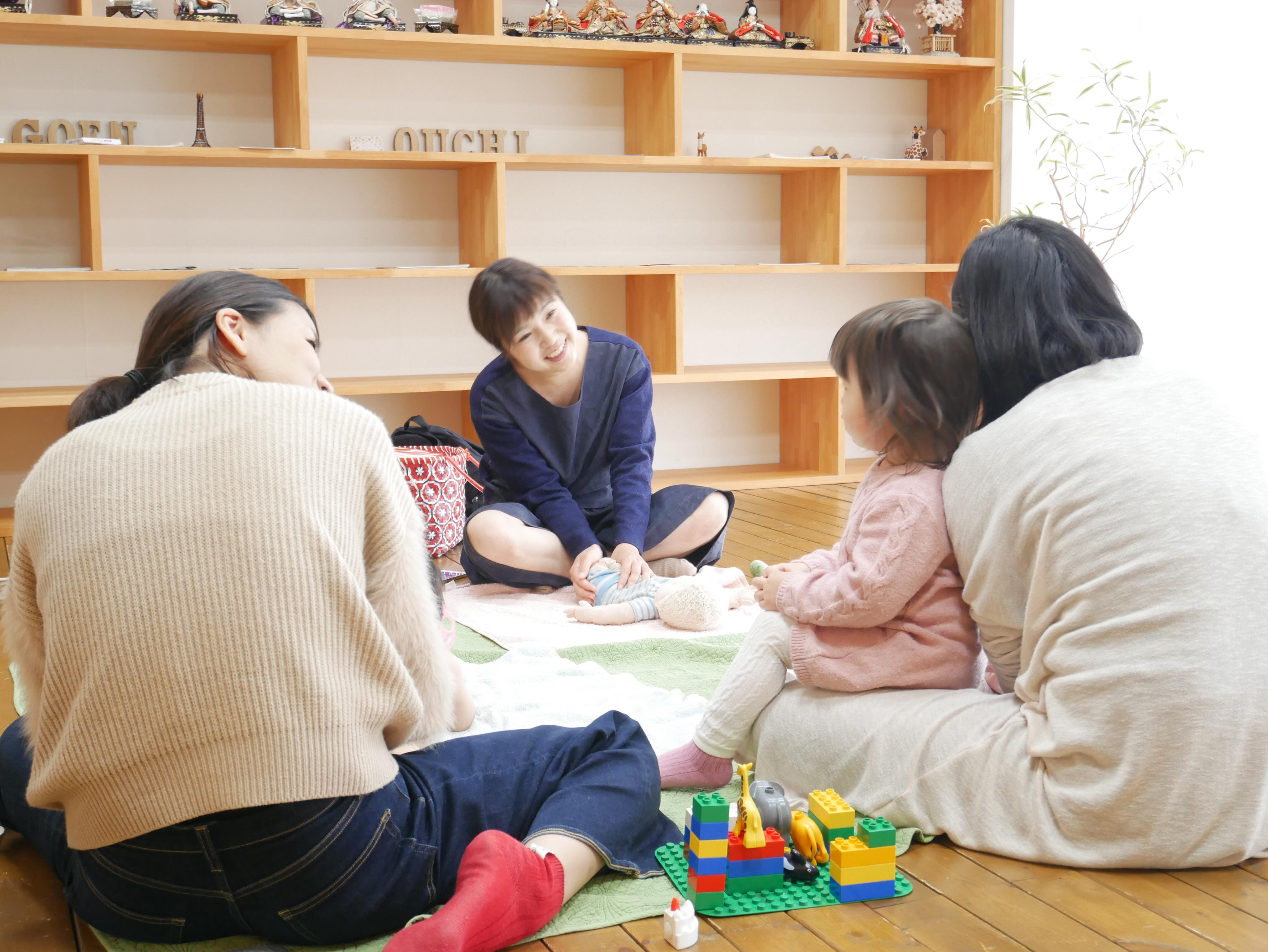 水田先生ベビーマッサージinおうちの買い方相談室