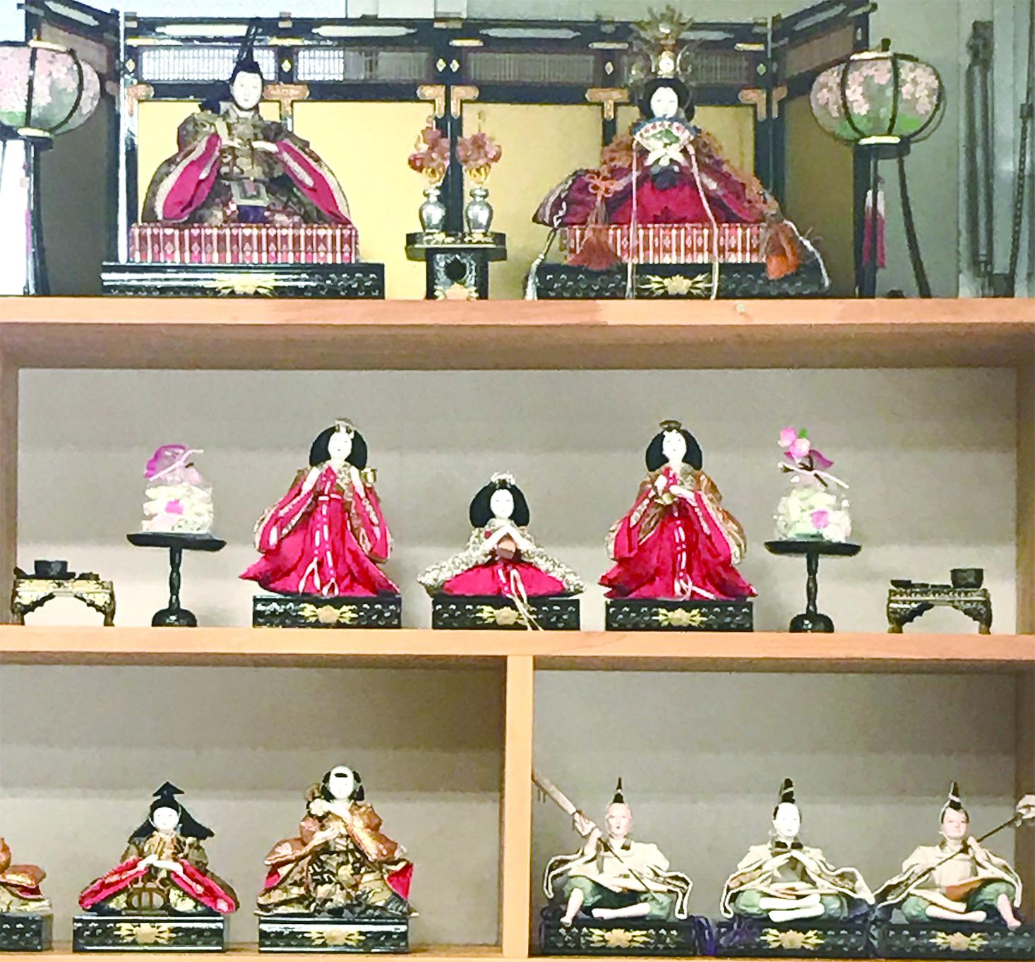 家お手入れと二十四節気② 今年も雛人形、飾りました!